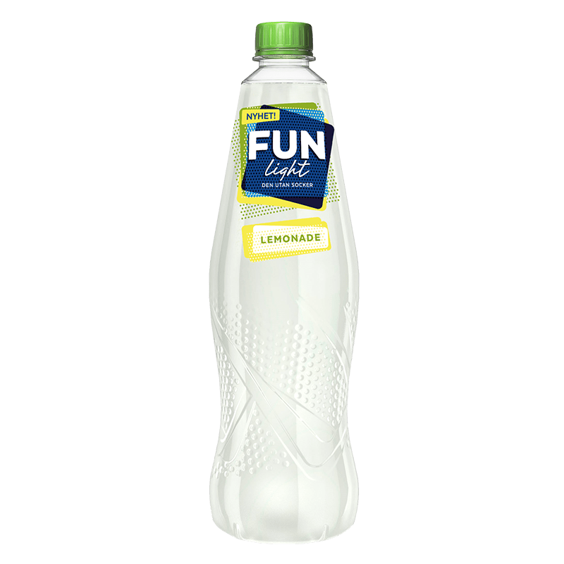Lemonade, en lemonad helt utan socker i flaska från FUN Light